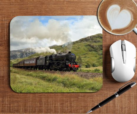 Steam Train Mouse Mat PC Computer Pad N8
